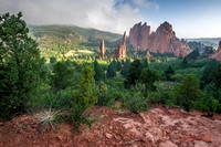 Garden of the Gods Park near Colorado Springs, Colorado.
