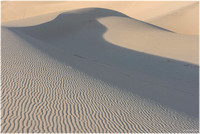 Dunes forms at Eureka Dunes