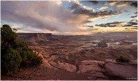 View South from Green River Overlook, Canyonlands National Park